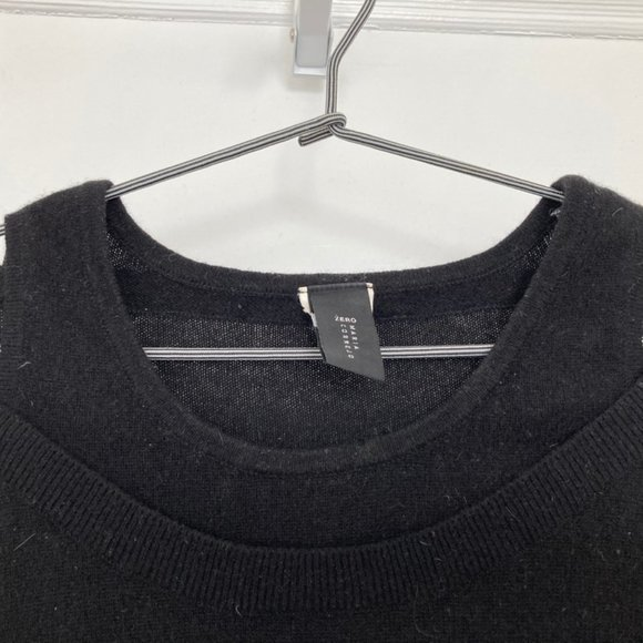 Zero + Maria Cornejo black sweater